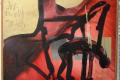 """""""Ich weigerte mich/Der Fall Homullus"""", Öl auf Leinwand, 1985/89. Das Bild gehört als Schenkung zur Sammlung der Neuen Sächsischen Galerie, Chemnitz."""